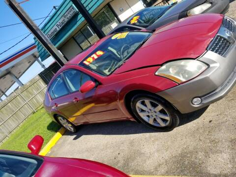 2004 Nissan Maxima for sale at Walker Auto Sales and Towing in Marrero LA
