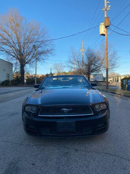 2014 Ford Mustang for sale at Horizon Auto Sales in Raleigh NC