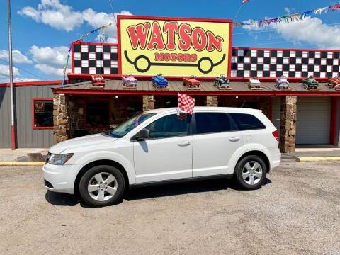2009 Dodge Journey for sale at Watson Motors in Poteau OK