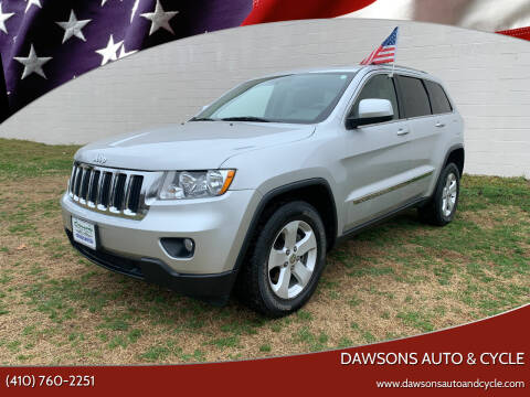 2012 Jeep Grand Cherokee for sale at Dawsons Auto & Cycle in Glen Burnie MD