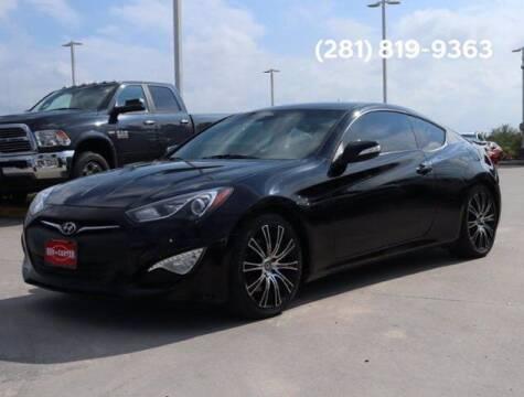 2014 Hyundai Genesis Coupe for sale at BIG STAR HYUNDAI in Houston TX