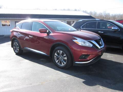 2017 Nissan Murano for sale at JANSEN'S AUTO SALES MIDWEST TOPPERS & ACCESSORIES in Effingham IL
