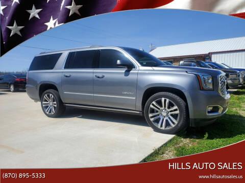 2020 GMC Yukon XL for sale at Hills Auto Sales in Salem AR