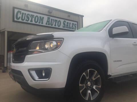 2016 Chevrolet Colorado for sale at Custom Auto Sales - AUTOS in Longview TX