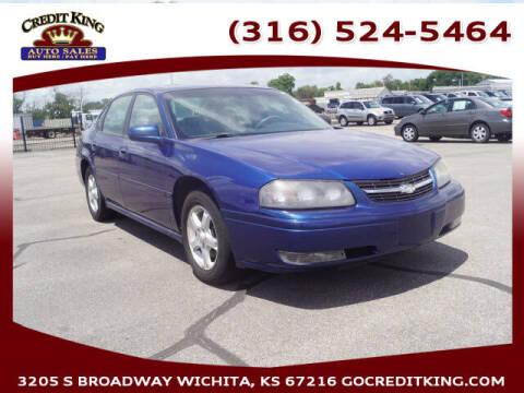 2005 Chevrolet Impala for sale at Credit King Auto Sales in Wichita KS