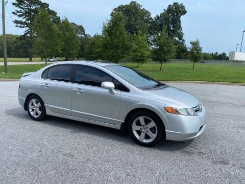 2007 Honda Civic for sale at GTO United Auto Sales LLC in Lawrenceville GA