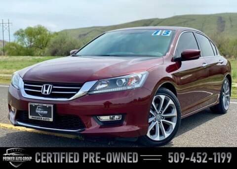 2013 Honda Accord for sale at Premier Auto Group in Union Gap WA