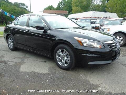 2012 Honda Accord for sale at Vans Vans Vans INC in Blauvelt NY
