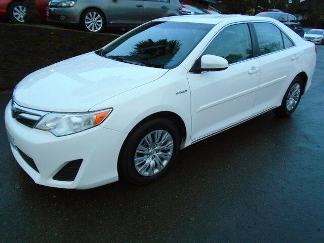 2013 Toyota Camry Hybrid for sale at Carsmart in Seattle WA