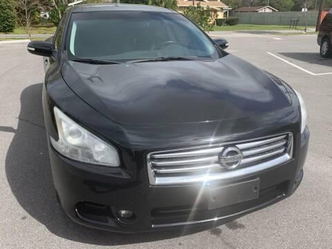2012 Nissan Maxima for sale at Consumer Auto Credit in Tampa FL