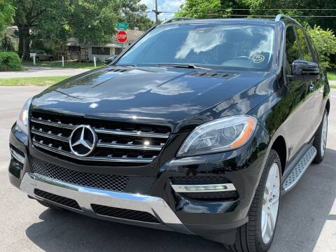 2013 Mercedes-Benz M-Class for sale at LUXURY AUTO MALL in Tampa FL