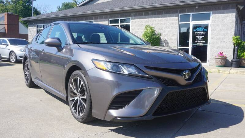 2019 Toyota Camry for sale at World Auto Net in Cuyahoga Falls OH