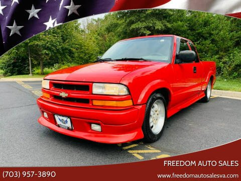 2000 Chevrolet S-10 for sale at Freedom Auto Sales in Chantilly VA