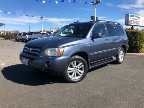 2006 Toyota Highlander Hybrid for sale at BOARDWALK MOTOR COMPANY in Fairfield CA