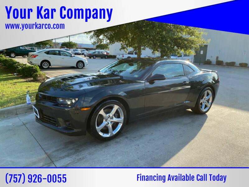 2014 Chevrolet Camaro for sale at Your Kar Company in Norfolk VA