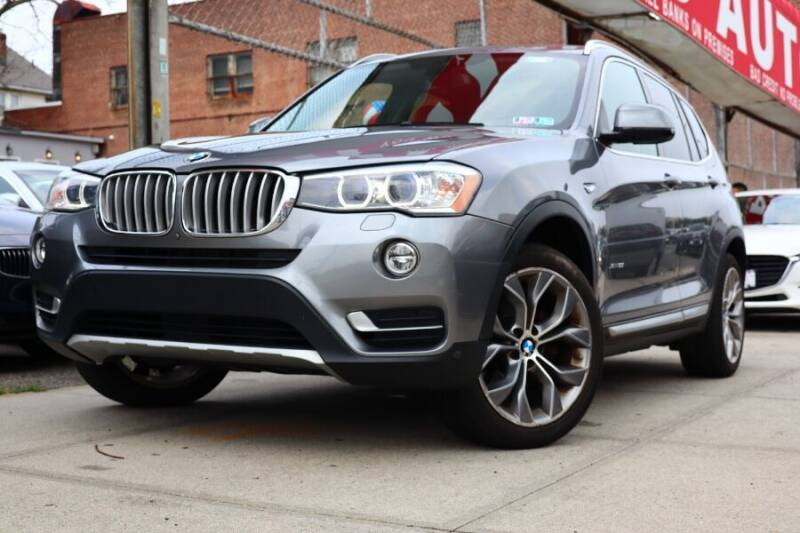 2016 BMW X3 for sale at HILLSIDE AUTO MALL INC in Jamaica NY