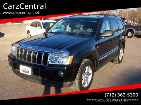 2006 Jeep Grand Cherokee for sale at CarzCentral in Estherville IA
