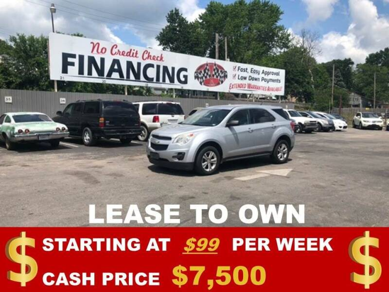 2012 Chevrolet Equinox for sale at Auto Mart USA in Kansas City MO