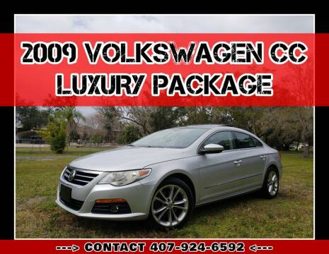 2009 Volkswagen CC for sale at AFFORDABLE ONE LLC in Orlando FL