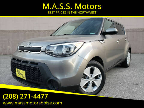 2016 Kia Soul for sale at M.A.S.S. Motors in Boise ID