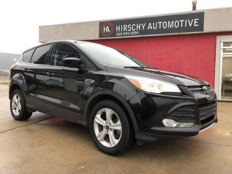 2015 Ford Escape for sale at Hirschy Automotive in Fort Wayne IN