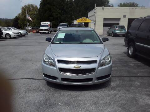 2010 Chevrolet Malibu for sale at Dun Rite Car Sales in Downingtown PA