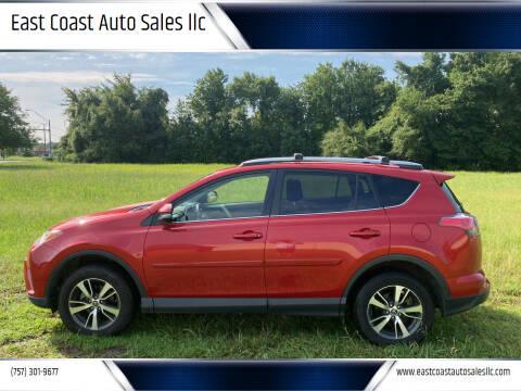 2017 Toyota RAV4 for sale at East Coast Auto Sales llc in Virginia Beach VA