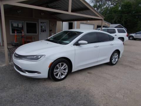 2016 Chrysler 200 for sale at DISCOUNT AUTOS in Cibolo TX