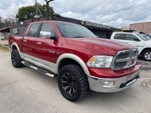 2010 Dodge Ram Pickup 1500 for sale at Texas Luxury Auto in Houston TX