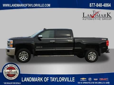 2016 Chevrolet Silverado 2500HD for sale at LANDMARK OF TAYLORVILLE in Taylorville IL