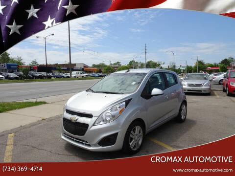 2014 Chevrolet Spark for sale at Cromax Automotive in Ann Arbor MI