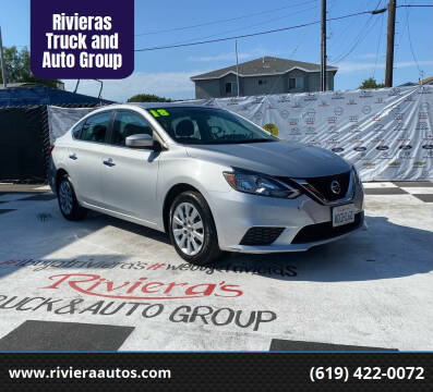 2018 Nissan Sentra for sale at Rivieras Truck and Auto Group in Chula Vista CA