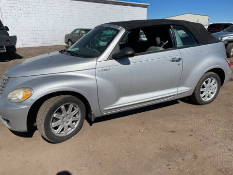 2006 Chrysler PT Cruiser for sale at PYRAMID MOTORS - Fountain Lot in Fountain CO