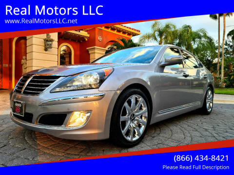 2013 Hyundai Equus for sale at Real Motors LLC in Clearwater FL