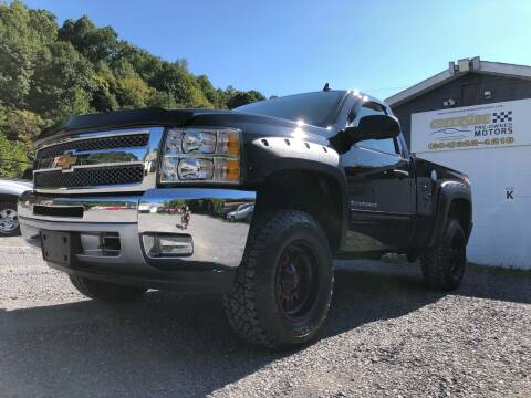 2013 Chevrolet Silverado 1500 for sale at Creekside PreOwned Motors LLC in Morgantown WV