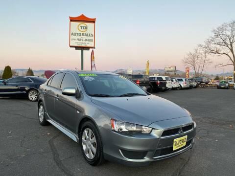 2012 Mitsubishi Lancer for sale at TDI AUTO SALES in Boise ID