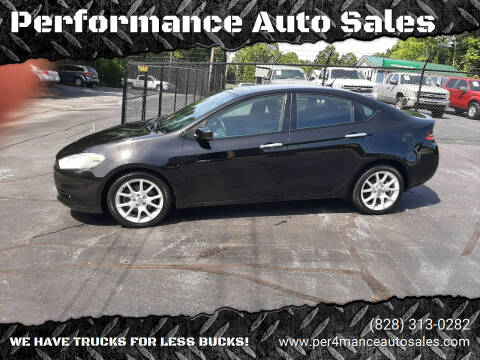 2013 Dodge Dart for sale at Performance Auto Sales in Hickory NC