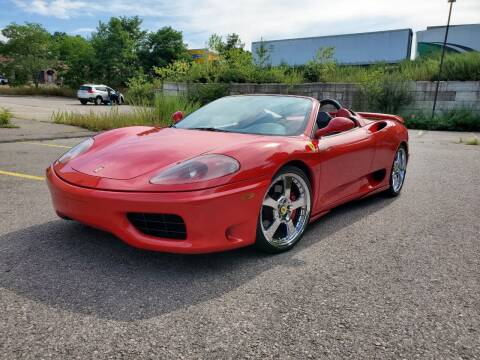 2001 Ferrari 360 Spider for sale at Velocity Motors in Newton MA