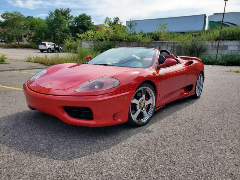 2001 Ferrari 360 Spider for sale at Velocity Motors in Newton MA