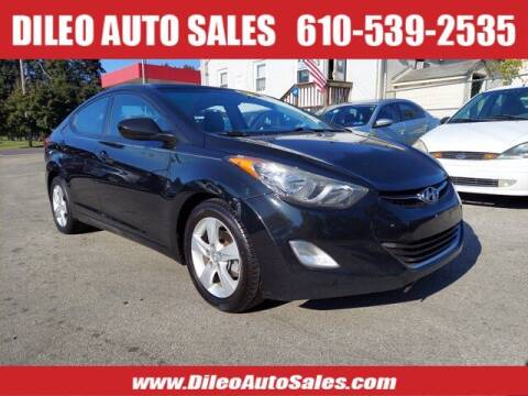 2013 Hyundai Elantra for sale at Dileo Auto Sales in Norristown PA