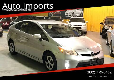 2012 Toyota Prius for sale at Auto Imports in Houston TX