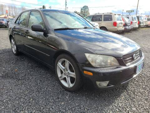 2005 Lexus IS 300 for sale at Universal Auto Sales in Salem OR