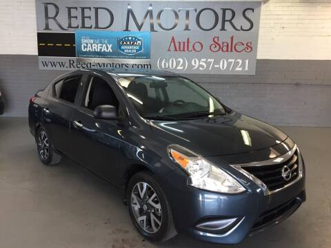 2015 Nissan Versa for sale at REED MOTORS LLC in Phoenix AZ