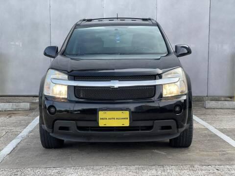 2009 Chevrolet Equinox for sale at Delta Auto Alliance in Houston TX