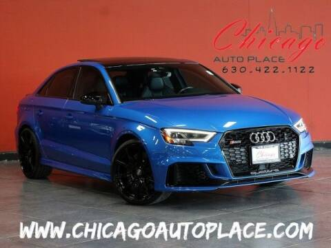 2018 Audi RS 3 for sale at Chicago Auto Place in Bensenville IL