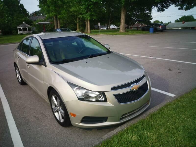 2012 Chevrolet Cruze for sale at CHAD AUTO SALES in Bridgeton MO