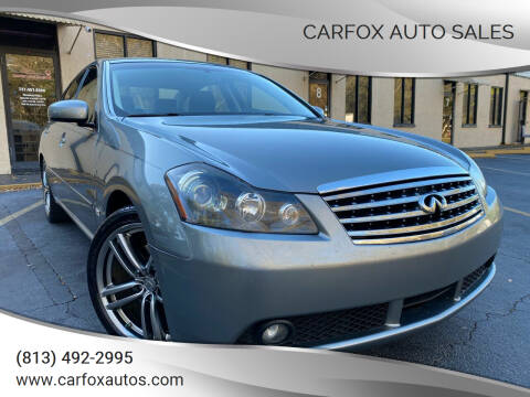 2007 Infiniti M35 for sale at Carfox Auto Sales in Tampa FL