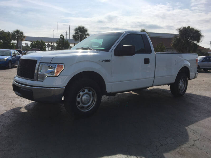 2012 Ford F-150 for sale at CAR-RIGHT AUTO SALES INC in Naples FL