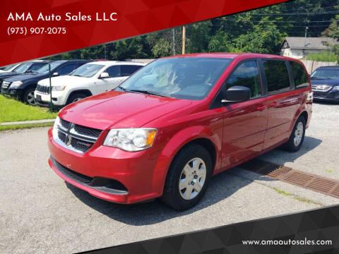 2012 Dodge Grand Caravan for sale at AMA Auto Sales LLC in Ringwood NJ