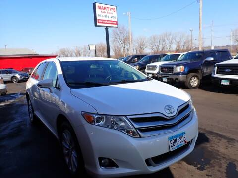 2014 Toyota Venza for sale at Marty's Auto Sales in Savage MN